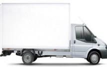 furgoneta grande mudanzas internacionales